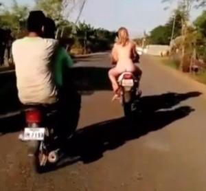 Ride naked....get deported