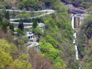 Iroha-zaka road Japan
